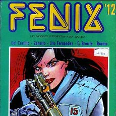 Cómics: FENIX Nº12 - ZANOTTO - ARTURO DEL CASTILLO - E. BRECCIA - ROUME - EDCIONES RECORD. Lote 9028379