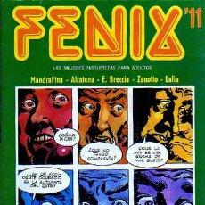 Cómics: FENIX Nº11 - ZANOTTO - LALIA - E. BRECCIA - ALCATENA - EDICIONES RECORD ESTILO SKORPIO. Lote 9028425