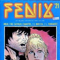 Cómics: FENIX Nº21 - ZANOTTO - E. BRECCIA - ARTURO DEL CASTILLO - EDICIONES RECORD ESTILO SKORPIO. Lote 9028440