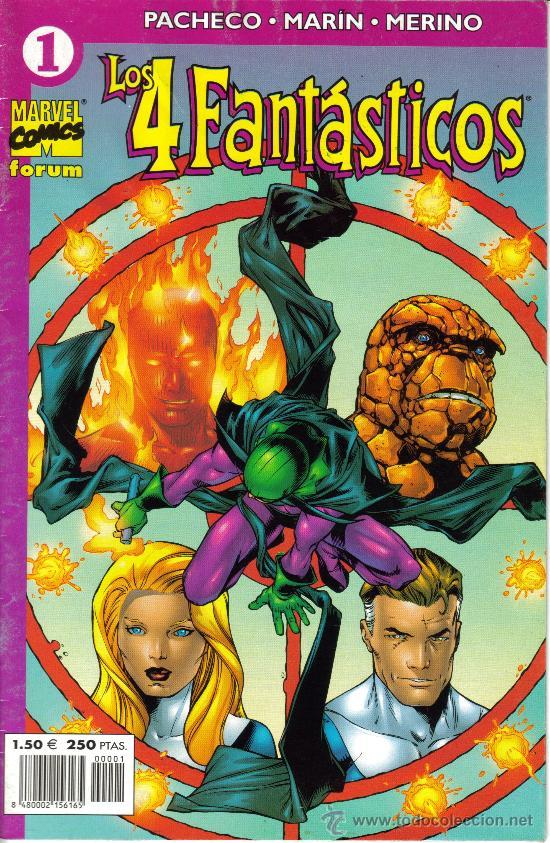 LOS 4 FANTASTICOS VOL IV (FORUM) ORIGINAL 2001- 2002 COMPLETA (Tebeos y Comics - Comics Pequeños Lotes de Conjunto)