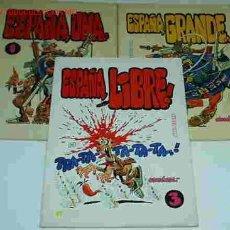 Cómics: ESPAÑA,UNA,GRANDE Y LIBRE COMPLETA - 3 LIBROS, RÚSTICA 1978-IMPORTANTE LEER DESCRIPCION. Lote 23900565