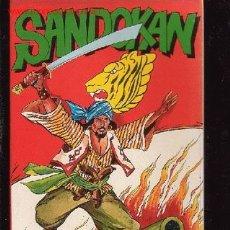 Cómics: SANDOKAN - EDITA : TOPELA 1976. Lote 1780192