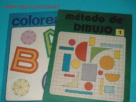 METODO DE DIBUJO 1 Y COLOREA EL ABC (Tebeos y Comics Pendientes de Clasificar)