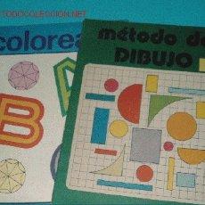Cómics: METODO DE DIBUJO 1 Y COLOREA EL ABC. Lote 1887708