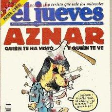 Cómics: 'EL JUEVES', Nº 1417. JULIO 2004. AZNAR EN PORTADA.. Lote 6086973
