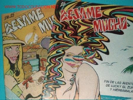LOTE BESAME MUCHO EXTRA DE VERANO Nº 24 Y 25 + Nº26 (Tebeos y Comics Pendientes de Clasificar)