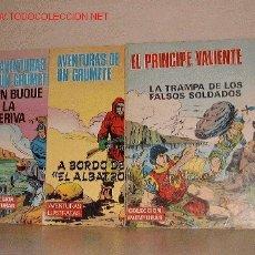Cómics: COLECCION AVENTURAS / AVENTURAS ILUSTRADAS. Lote 2148291