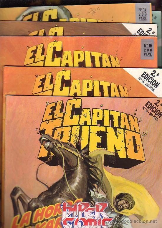 Cómics: EL CAPITAN TRUENO - EDICION HISTORICA - COLECCION COMPLETA DE 148 EJEMPLARES - edita - EDICIONES B - Foto 2 - 15611858