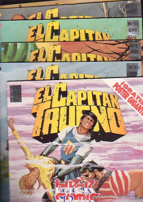 Cómics: EL CAPITAN TRUENO - EDICION HISTORICA - COLECCION COMPLETA DE 148 EJEMPLARES - edita - EDICIONES B - Foto 3 - 15611858