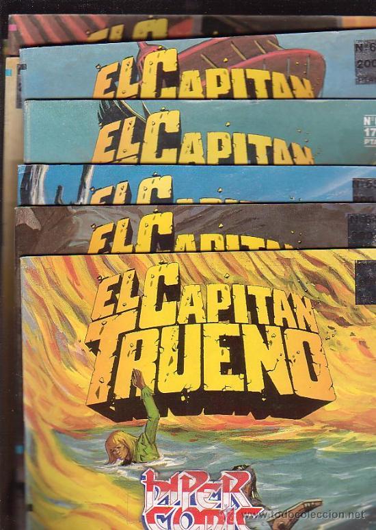 Cómics: EL CAPITAN TRUENO - EDICION HISTORICA - COLECCION COMPLETA DE 148 EJEMPLARES - edita - EDICIONES B - Foto 4 - 15611858