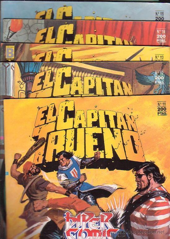 Cómics: EL CAPITAN TRUENO - EDICION HISTORICA - COLECCION COMPLETA DE 148 EJEMPLARES - edita - EDICIONES B - Foto 5 - 15611858