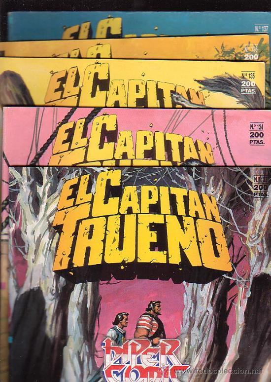 Cómics: EL CAPITAN TRUENO - EDICION HISTORICA - COLECCION COMPLETA DE 148 EJEMPLARES - edita - EDICIONES B - Foto 6 - 15611858