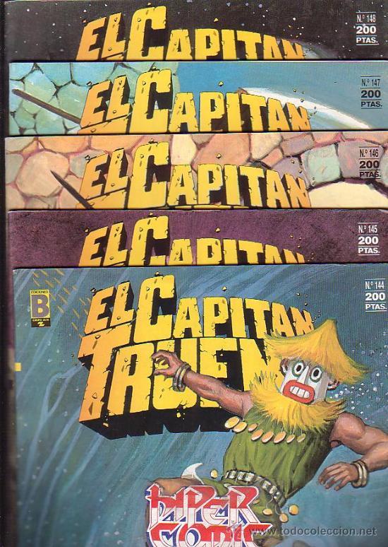 Cómics: EL CAPITAN TRUENO - EDICION HISTORICA - COLECCION COMPLETA DE 148 EJEMPLARES - edita - EDICIONES B - Foto 7 - 15611858