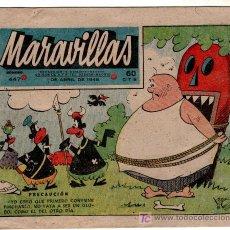 Cómics: MARAVILLAS 447, ABRIL 1948. Lote 9796671