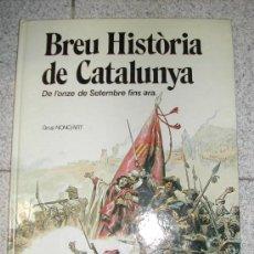 Cómics: BREU HISTORIA DE CATALUNYA TAPAS DURAS. Lote 17248598