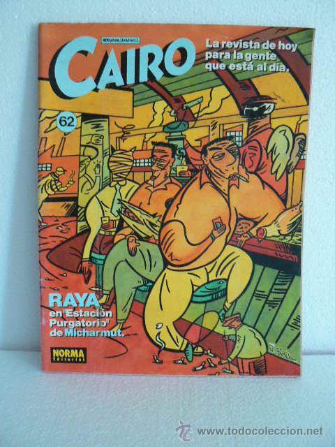 CAIRO. NÚMERO 62 (Tebeos y Comics - Comics otras Editoriales Actuales)