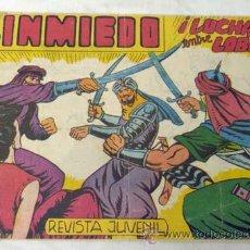 Cómics: SINMIEDO Nº 19 LUCHA ENTRE LOBOS ED ACRÓPOLIS 1962. Lote 9945869