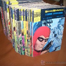 Cómics: HEROES MODERNOS II EPOCA SERIE AMARILLA COMPLETA. Lote 27402232