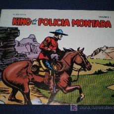 Cómics: KING DE LA POLICIA MONTADA. VOL. I - ALLEN DEAN - EDICIONES B.O - ***MUY NUEVO***. Lote 10064079