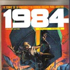 Cómics: COMIC 1984 RETAPADO EXTRA Nº12, (CONTIENE EL 58, 59 Y 60) EL COMIC DE LA FANTASIA Y LA CIENCIA FICC. Lote 26288901