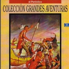 Cómics: OJO DE HALCÓN - FENIMORE COOPER - COL. GRANDES AVENTURAS Nº 4 VOL. 4 - EL PERIODICO. Lote 14225976