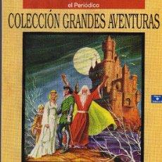 Cómics: CLAUDIO Y LA TABLA REDONDA - V. MULBERRY - COL. GRANDES AVENTURAS Nº 9 VOL. 4 - EL PERIODICO. Lote 10573971