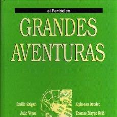 Cómics: TAPAS DEL TOMO 3 - COLECCIÓN GRANDES AVENTURAS - EL PERIODICO. Lote 10321999