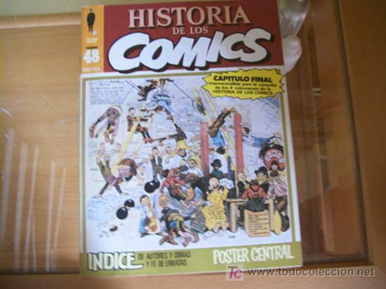 Cómics: HISTORIA DE LOS COMICS. COLECCION COMPLETA DE 48 EJEMPLARES.4 ANEXOS PARA ENCUADERNAR (COIB106) - Foto 3 - 26294202