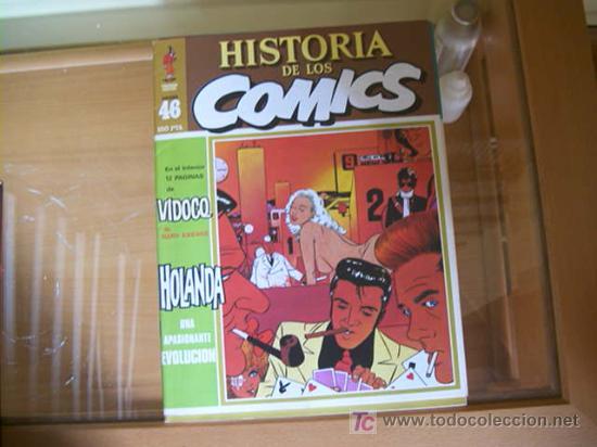 Cómics: HISTORIA DE LOS COMICS. COLECCION COMPLETA DE 48 EJEMPLARES.4 ANEXOS PARA ENCUADERNAR (COIB106) - Foto 5 - 26294202
