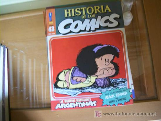 Cómics: HISTORIA DE LOS COMICS. COLECCION COMPLETA DE 48 EJEMPLARES.4 ANEXOS PARA ENCUADERNAR (COIB106) - Foto 6 - 26294202