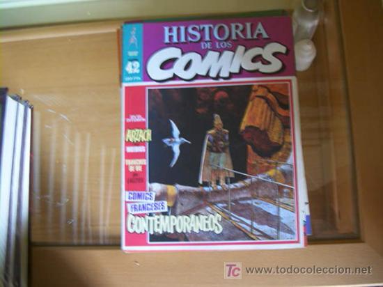 Cómics: HISTORIA DE LOS COMICS. COLECCION COMPLETA DE 48 EJEMPLARES.4 ANEXOS PARA ENCUADERNAR (COIB106) - Foto 7 - 26294202