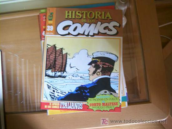 Cómics: HISTORIA DE LOS COMICS. COLECCION COMPLETA DE 48 EJEMPLARES.4 ANEXOS PARA ENCUADERNAR (COIB106) - Foto 4 - 26294202
