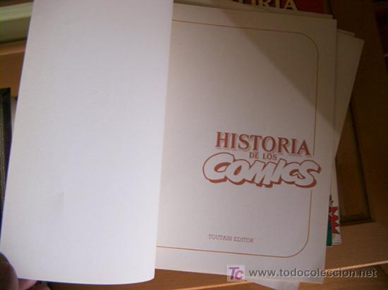 Cómics: HISTORIA DE LOS COMICS. COLECCION COMPLETA DE 48 EJEMPLARES.4 ANEXOS PARA ENCUADERNAR (COIB106) - Foto 9 - 26294202