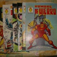 Cómics: EL HOMBRE DE HIERRO. VERTICE. MUNDICOMIS. 8 NUMEROS, COMPLETA CJ 11- GORBAUD. Lote 21753832