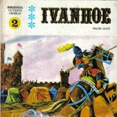 Cómics: IVANHOE - BIBLIOTECA JUVENIL ROMA Nº 2 - EDITORIAL ROMA - TAPA DURA - AÑO 1970 - BIEN CONSERVADO.. Lote 15894356