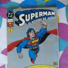 Cómics: COMIC SUPERMAN EL HOMBRE DE ACERO DC COMICS -11 NUMEROS-. Lote 26099322