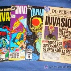 Cómics: INVASION * COMPLETA * # 1 # 2 # 3 # 4 * FOTOS ADICIONALES * AÑO 1993 *. Lote 20409233