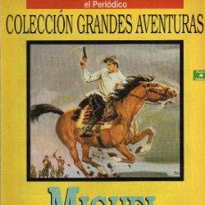 Cómics: MIGUEL STROGOFF - JULIO VERNE - COL. GRANDES AVENTURAS - Nº 4 VOL. 1 - EL PERIODICO. Lote 10501070