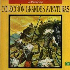 Cómics: LAS MINAS DEL REY SALOMON - H. RIDER HAGGAR - COL. GRANDES AVENTURAS - Nº 15 VOL. 1 - EL PERIODICO. Lote 19691048