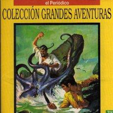 Cómics: LA ISLA DE LA AVENTURA - STEVENSON - COL. GRANDES AVENTURAS - Nº 17 VOL. 1 - EL PERIODICO. Lote 10501671