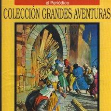 Cómics: EL LEÓN DE DAMASCO - EMILIO SALGARI - COL. GRANDES AVENTURAS - Nº 19 VOL. 1 - EL PERIODICO. Lote 10501697