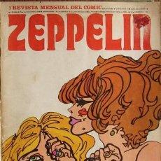 Cómics: ZEPPELIN, REVISTA DE LOS 70'S. 11 EJEMPLARES EN UN TOMO.. Lote 27516823