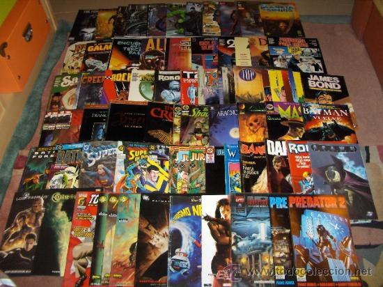 ADAPTACIONES AL COMIC DE PELÍCULAS. 79 COMICS. COLECCIÓN ÚNICA. MBE. ENTRA Y ALUCINA!!!!!!!!!!!!!!!! (Tebeos y Comics - Comics Colecciones y Lotes Avanzados)