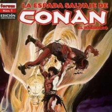 Cómics: LA ESPADA SALVAJE DE CONAN, EL BÁRBARO: EDICIÓN COLECCIONISTAS - 85 EJEMPLARES, COLECCIÓN COMPLETA. Lote 22365864