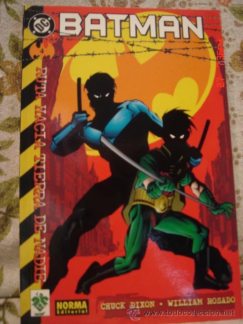 Cómics: BATMAN tierra de nadie - Foto 2 - 10885710