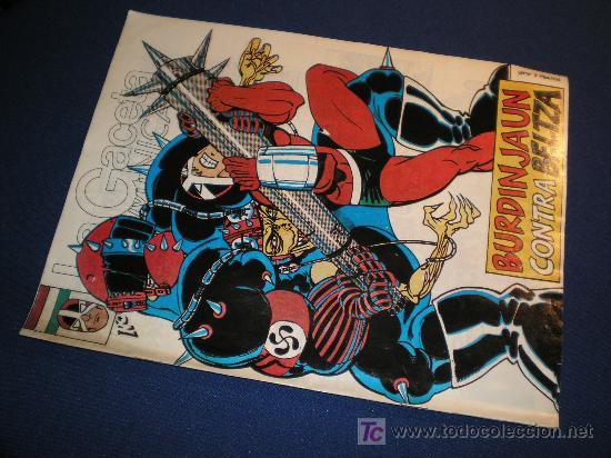 BURDINJAUN CONTRA BELTZA - EL SUPERHEROE VASCO (Tebeos y Comics Pendientes de Clasificar)