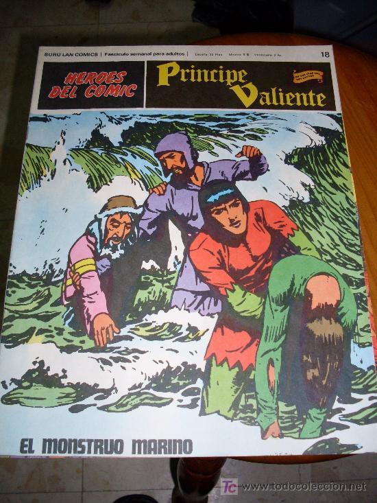 EDI. BURULAN COMICS EL PRINCIPE VALIENTE NUMERO 18 (Tebeos y Comics - Buru-Lan - Principe Valiente)
