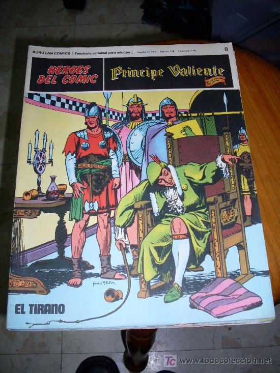 EDI. BURULAN COMICS EL PRINCIPE VALIENTE NUMERO 8 (Tebeos y Comics - Buru-Lan - Principe Valiente)
