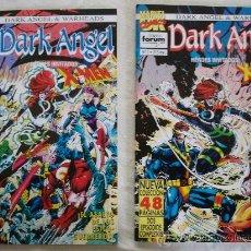 Cómics: DARK ANGEL & WARHADS Nº 1 Y 2.. Lote 20265923