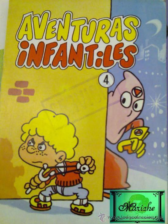 AVENTURAS INFANTILES, COMIC CON LO QUE PARECEN DIBUJOS DE JAN- SUPER CHUPI- 1986 (Tebeos y Comics Pendientes de Clasificar)